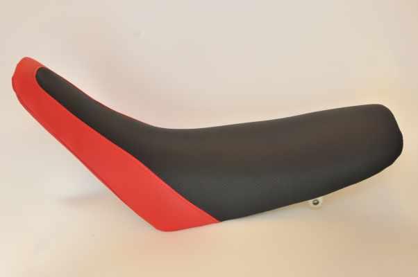 HONDA CRM250AR ホンダ  黒ディンプル 赤ディンプル バイクシート張替え シート加工 seat