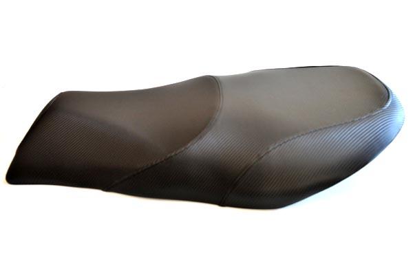 SUZUKI GEMMA アメリカ製 綾織カーボン  バイクシート張替え シート加工 seat