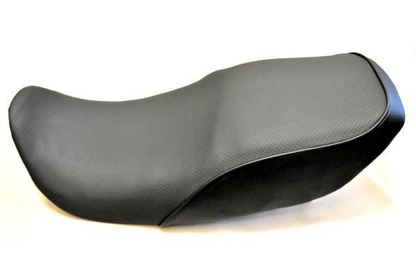 KAWASAKI カワサキ GPZ750F アンコ抜き ディンプル一枚・黒  バイクシート張替え シート加工 seat