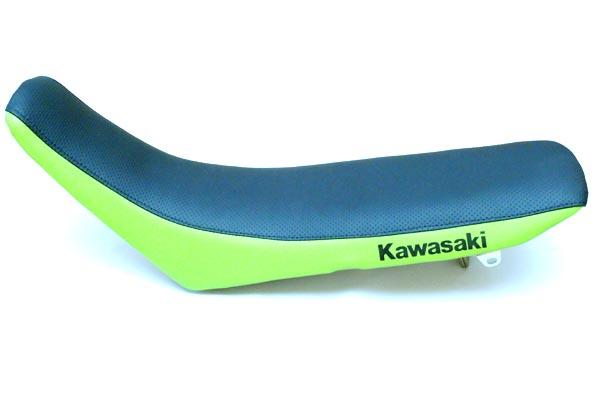 KAWASAKI KLX250 カワサキ  シート加工 ディンプル・カワサキグリーン仕様