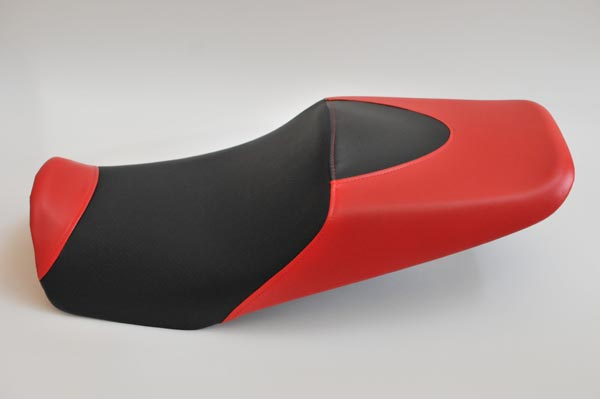 HONDA CB1300SF SC54 ホンダ  赤・ディンプル・カーボン・赤仕様 バイクシート張替え シート加工 seat