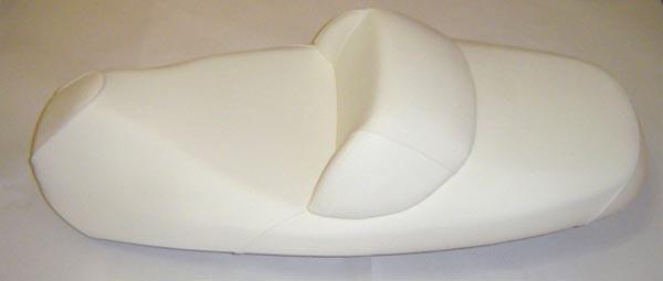 SYM RV250 ビッグスクーター  バイクシート張替え シート加工 seat