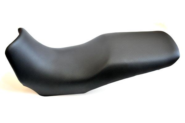 YAMAHA ヤマハ TDM900 アンコ抜き 黒ディンプル  バイクシート張替え シート加工 seat