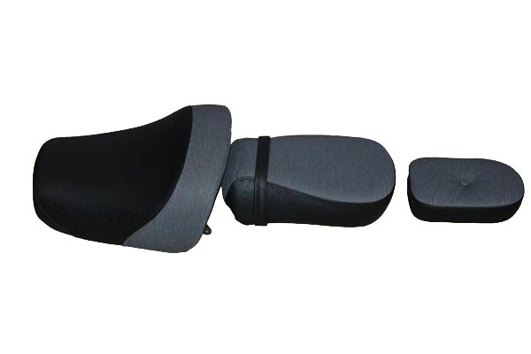 Kawasaki VALCAN カワサキ バルカン1500cc  バイクシート張替え シート加工 seat エピ オーストリッチ仕様