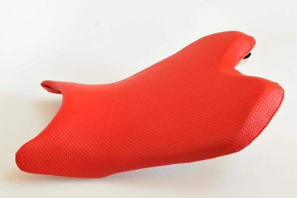 YAMAHA ヤマハ YZF-R6 YZFR6 赤ディンプル  バイクシート張替え シート加工 seat
